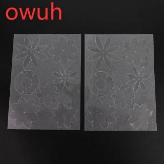 Owuh A4 Cutting Board & Shrink Sheet Set DIY Handmade Tools Art Craft Supplies