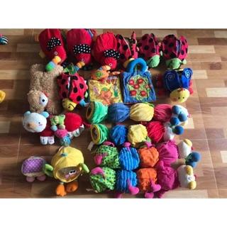 Combo búp bê, đồ chơi, gấu bông hàng si