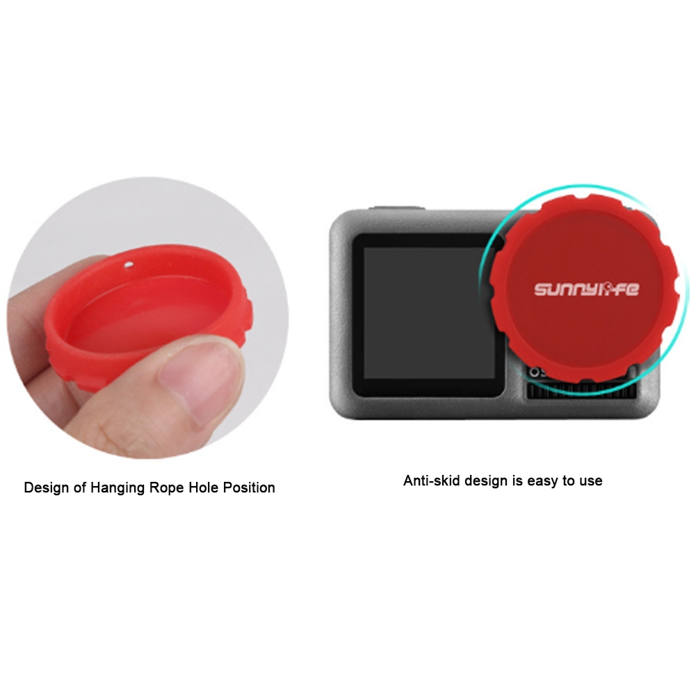 Photography Anti Scratch Sports Camcorder Outdoor Protective Silicone Lens Case For DJI Osmo Action