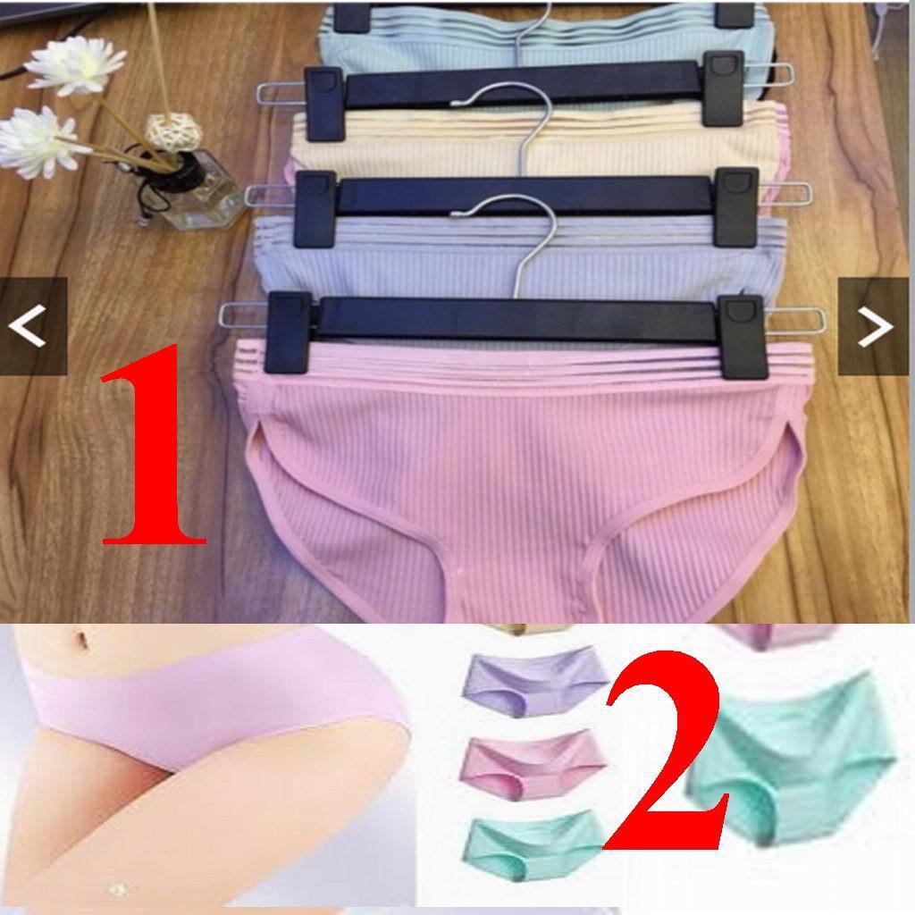 [ quần lót ] 10 quần lót Muji kháng khuẩn, quần lót su , quần su đúc ép lạnh, quần chip không đường may, quần lót cotton