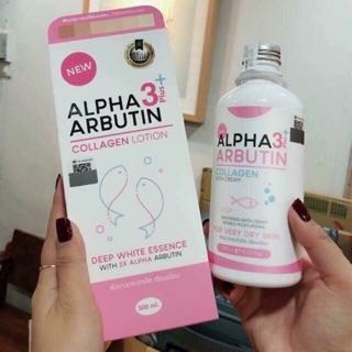 [CÓ SẴN] Set lotion + sữa tắm Alpha Arbutin Collagen