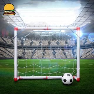 Portable Children Outdoor Toys Folding Kids Football Goal Door Set Football Gates for Children