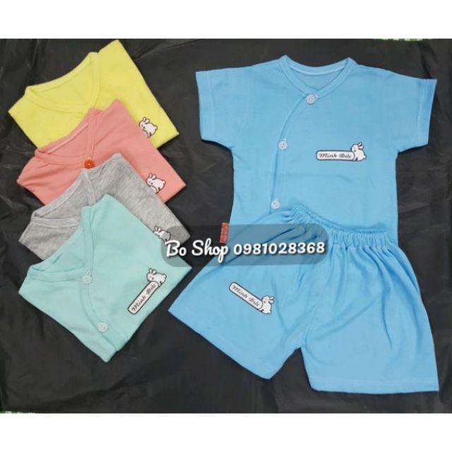 Bộ quần áo cộc tay sơ sinh 3-11kg ( mẫu mới 2020 )