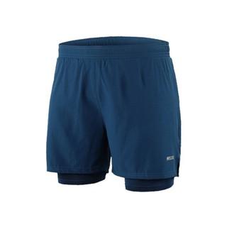 Quần chạy bộ nam ARSUXEO MS02, quần short thể thao 2 lớp (boxer) có túi đa năng, nhẹ, thoáng khí