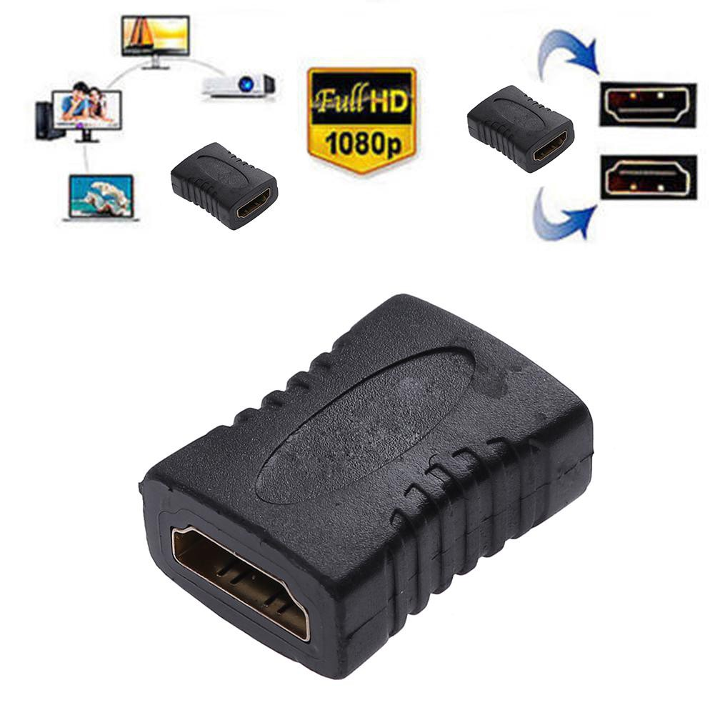 FL🔥 1080P HDMI to HDMI Adapter Female to Female Coupler Extender Connector