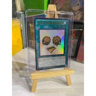 Lá bài thẻ bài Yugioh The Flute Of Summoning Kuriboh – Ultra Rare – Tặng bọc bài nhựa bảo quản