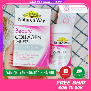 [CHUẨN AIR] Collagen viên Nature s Way Beauty Collagen Booster 60 viên - Xuất xứ Úc thumbnail