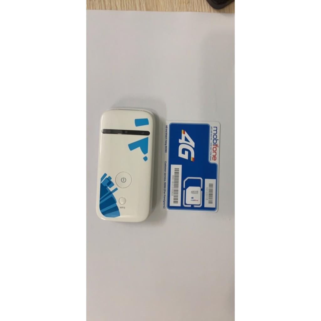 Combo bộ phát wifi di động 3g ZTE MF65 tốc độ cao + sim dụng