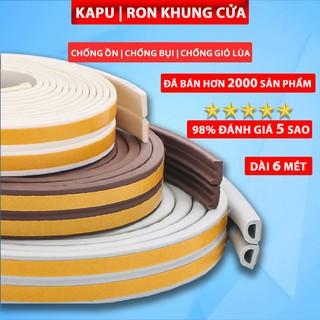 6m Ron Cao Su Dán Khung Cửa Loại 2 4 6mm