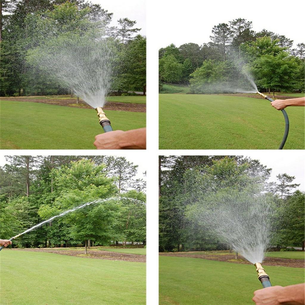 PVN20754 Đầu vòi xịt tăng áp mini phun nước rửa xe, tưới cây tăng áp đa năng