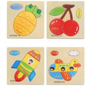 Combo 5 trang ghép cho trẻ từ 1 đên 4 tuổi