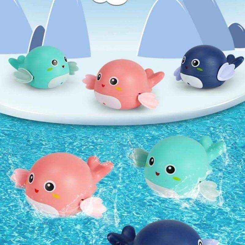 Sale !!! Đồ Chơi Thả Bồn Tắm Cá Heo Vặn Cót Bơi Lội Cho Bé Yêu (SP001588 ) Shop Phúc Yến