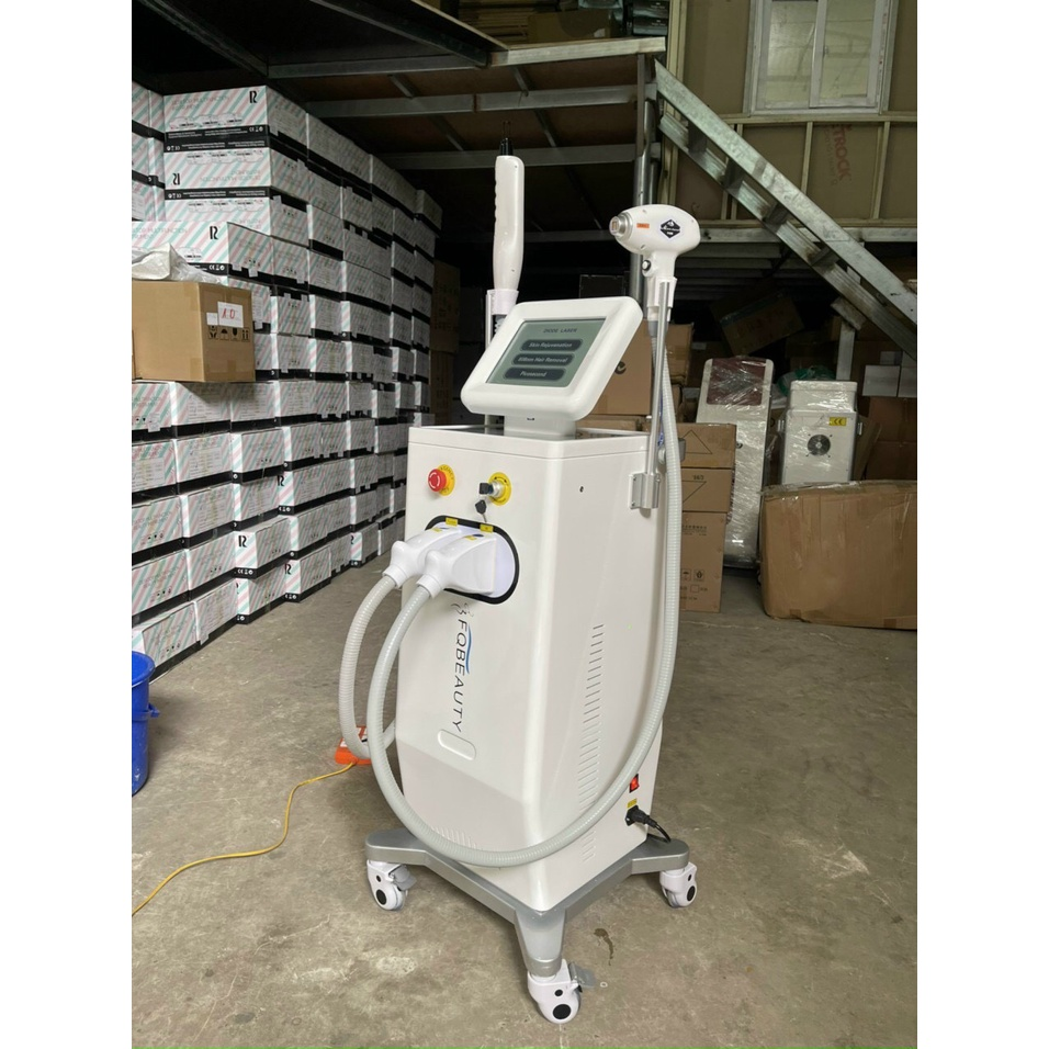 Máy 2in1 diode laser 2021 FQ Beauty