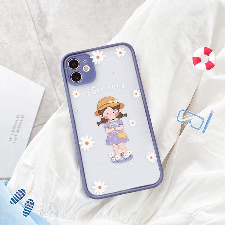 Ốp lưng iphone Summer Girl bảo vệ camera 5s/6/6plus/6s/6splus/6/7/7plus/8/8plus/x/xs/xsmax/11/11pro/11promax– Shin Case
