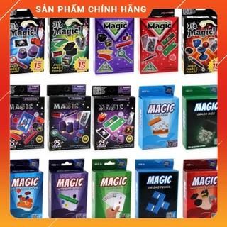 Bộ 3 hộp đồ chơi ảo thuật ngẫu nhiên cho cho bé – Bài ảo thuật dụng cụ biểu diễn ảo thuận Best Seller