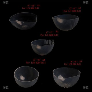 MQ2 Doll Clear Silicone Wig Cap Protection Cover for 1 6 1 4 1 3 BJD Doll SD Doll thumbnail