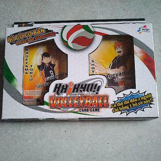 Haikyu volleyball card games