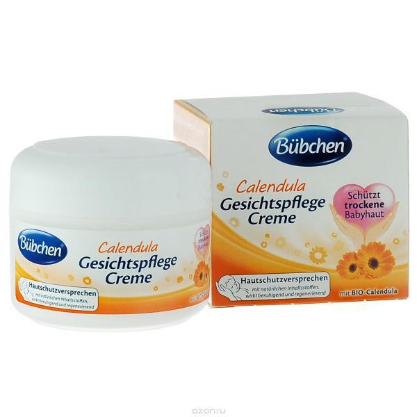 [Mã 267FMCGSALE giảm 8% đơn 500K] Kem chống nẻ và dưỡng da Bubchen cho bé  từ hoa cúc hữu cơe