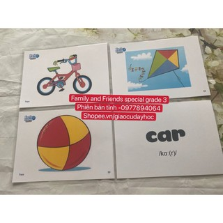Flashcard Family and Friends Special Grade 3- phiên bản tỉnh