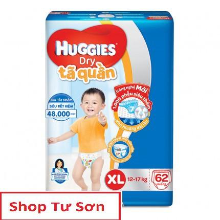 Tả Huggies Quần siêu tiết kiệm M74.L68.XL62.XXL56