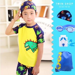 Đồ Bơi Bé Trai Twin Hình Khủng Long  - TWB001