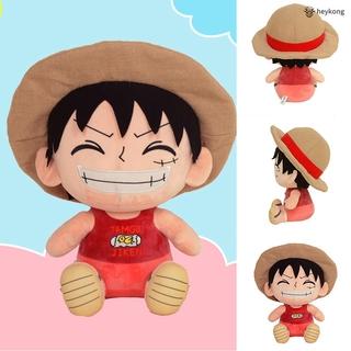 /HK/ Luffy Figure Luffy Plush Toy Cartoon Figure Luffy Stuffed Soft Doll Toys Birthday Gift