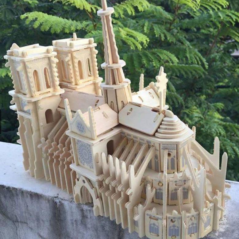 Bộ ghép hình nhà thờ Đức bà Paris (39 chi tiết) - 21555799 , 1472480069 , 322_1472480069 , 110000 , Bo-ghep-hinh-nha-tho-Duc-ba-Paris-39-chi-tiet-322_1472480069 , shopee.vn , Bộ ghép hình nhà thờ Đức bà Paris (39 chi tiết)