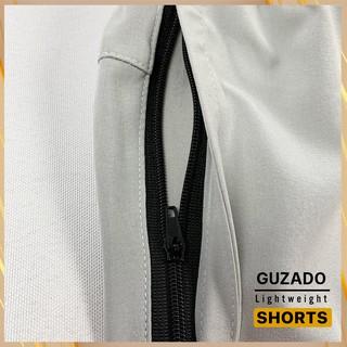 Hình ảnh Quần đùi nam Guzado phong cách thể thao khỏe khoắn, chất gió mềm siêu mịn, co giãn tốt, vận động thoải mái GSR01-4