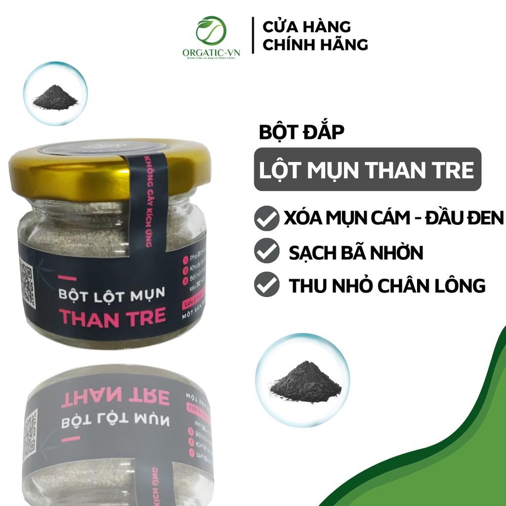[Mã 88FMCGSALE1 giảm 10% đơn 250K] Lột Mụn Than Tre - Sạch mụn - Thải độc chì- Sáng da - Handmade