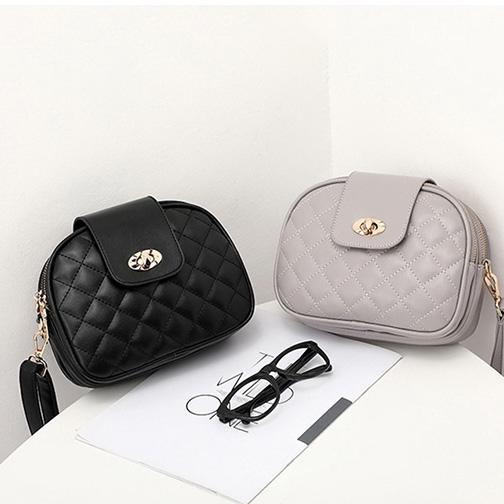 [ Sale ] Túi thời trang đeo chéo dáng Hàn trám xoay - T832