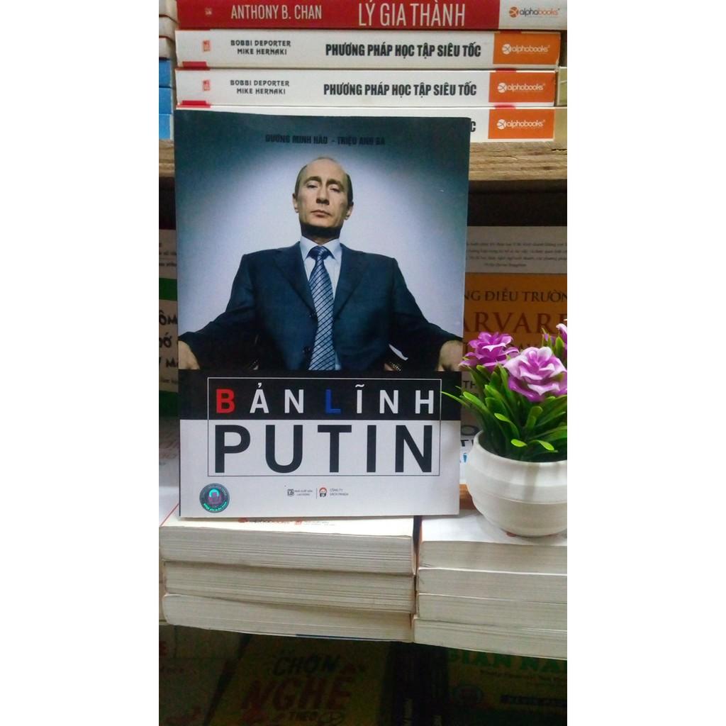 Sách thật giá rẻ- Bản Lĩnh Putin