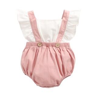 Áo liền quần Sanlutoz bằng cotton phong cách công chúa cho bé gái