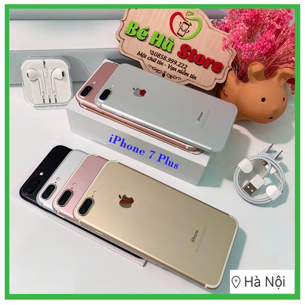 [Mã ELMT6M giảm 5% đơn 6TR] Điện Thoại IPHONE 7 PLUS 128GB Rose/Hồng Quốc Tế Chính Hãng, Zin Đẹp Như Mới