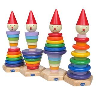 Đồ chơi tháp hai tầng sáng tạo cho bé