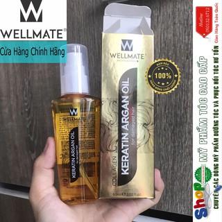 [Wellmate-chính hãng] Tinh Dầu Dưỡng Tóc phục hồi WELLMATE KERATINARGAN OIL 60ML thumbnail