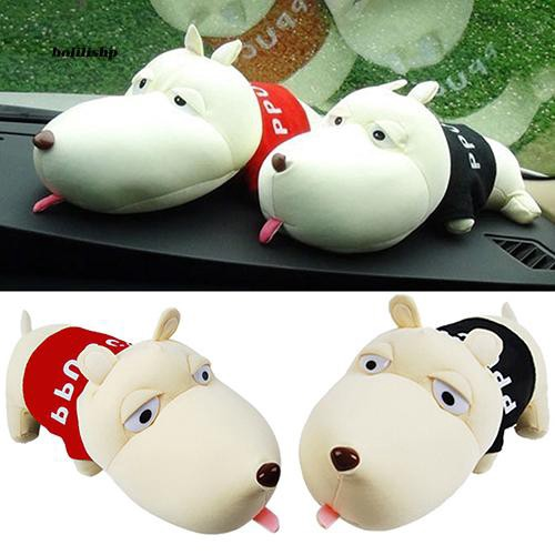 BLLP_Cute Cartoon Dog Bamboo Charcoal Bag Car Deodorant Air Purifying Useful Decor