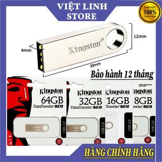 USB Kingston - Vỏ sắt chống nước - 16Gb/8Gb/4Gb/2Gb - DataTraveler SE9 G2 - ( Hàng đủ dung lượng ) - Việt Linh Store