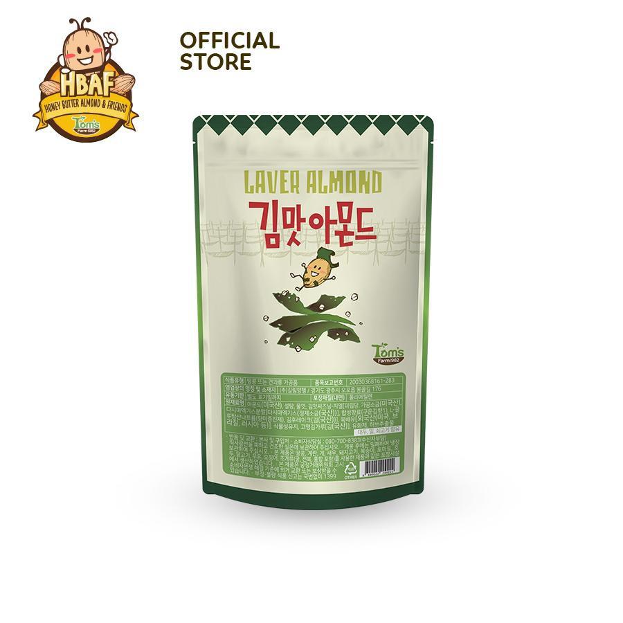 [VỊ MỚI] Hạnh nhân Vị Trà Sữa Đường Đen HBAF 210g Hàn Quốc
