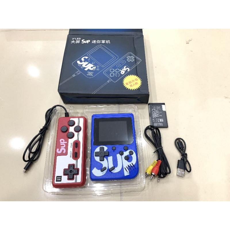 máy điện tử x400 trò ,2 tay cầm ,2 người chơi ,pin khỏe