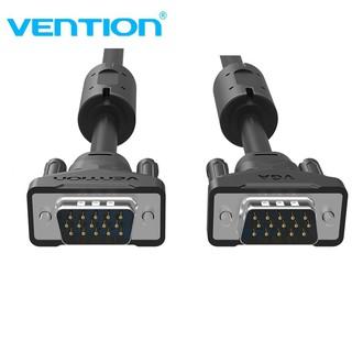 [Mã ELFLASH5 giảm 20K đơn 50K] Dây cáp VGA tròn(3+6) Vention, dài 1,5m đến 10m hỗ trợ full HD 1080