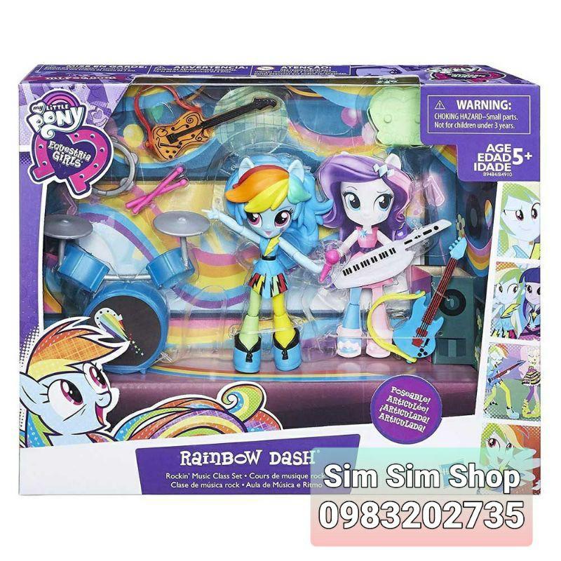 Bộ Pony Rainbow Dash lớp học nhạc vui nhộn