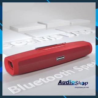 Loa bluetooth BOOMS BASS - âm thanh Bass siêu trầm - Hỗ trợ đọc thẻ nhớ TF - thu FM - kết nối máy tính Jắc 3.5mm aux