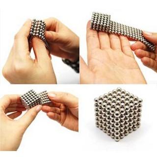 216Pcs Cube Neodymium Magnet Balls, 3Mm