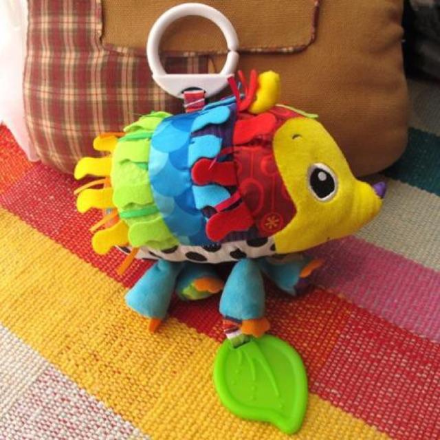 đồ chơi cho bé đồ chơi bé sơ sinh nướu gặm chút chít Lamaze Mỹ