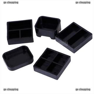 {go shopping}5pcs/set 1:12 balck dollhouse plastic lunch-box miniature accessories