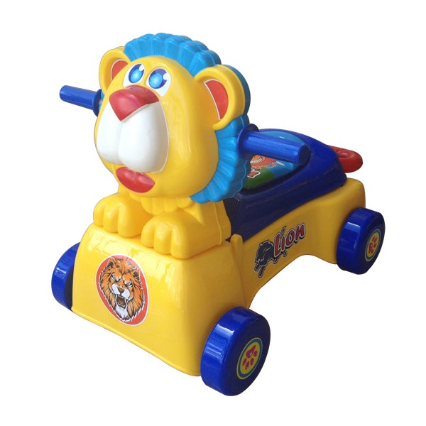 Xe đẩy tập đi cho bé K2 sư tử không nhạc X115