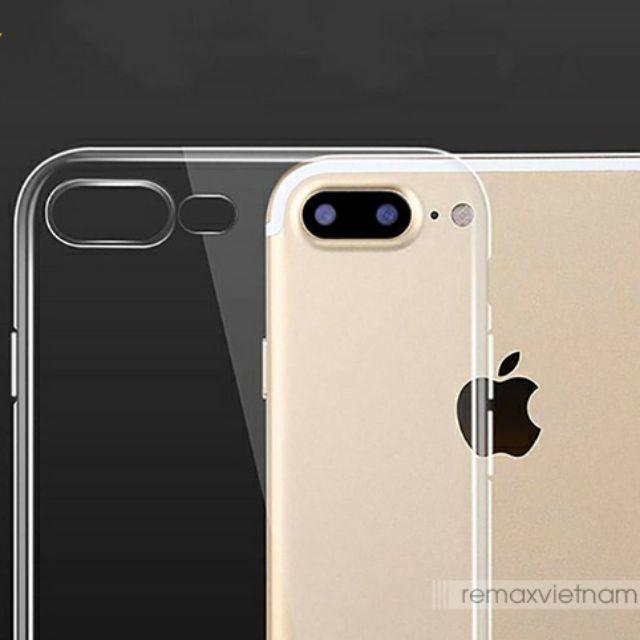 Ốp silicon trong Viền chống sốc hỗ trợ led nháy sáng cho iPhone chống ố vàng, viền bảo vệ camera