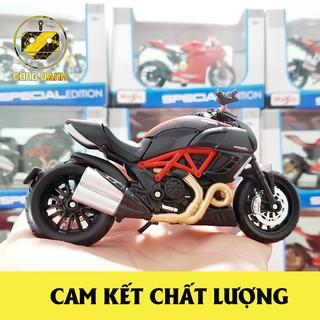 Mô Hình Xe Moto Ducati Diavel