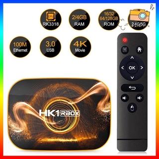 ANDROID Máy Nghe Nhạc Bluetooth Không Dây Dk1R Tv Box Rk3318 4gb 4k Wifi Và Phụ Kiện