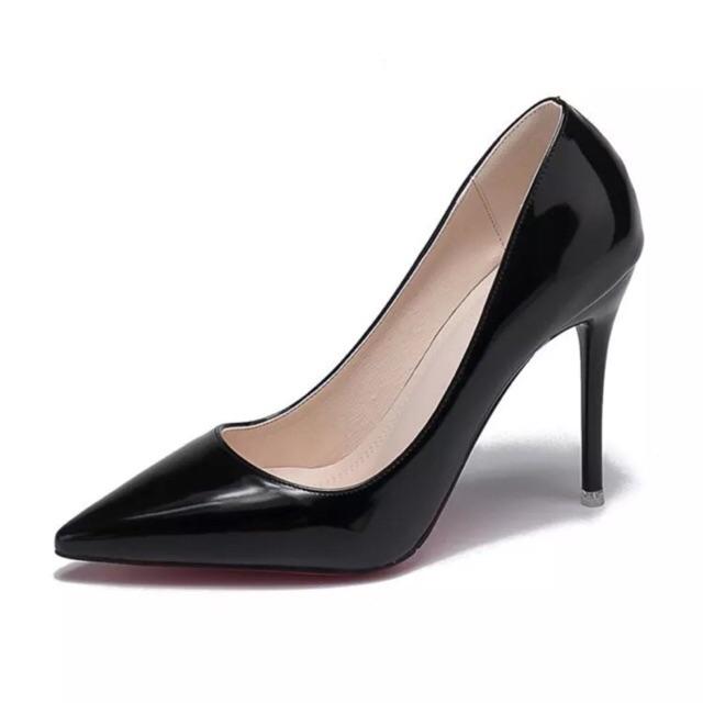 Giày Cao Gót Nhọn Công Sở Cao 9 Phân + 7 Phân (G79) (chân đầy đặn nên đi tăng 1 size)